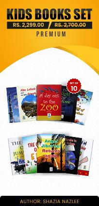 Kids Books Premium Set - Shazia Nazlee